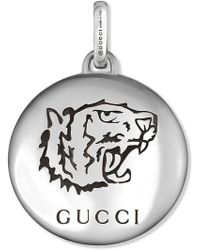 """Gucci - """"blind For Love"""" Charm In Silver - Lyst"""