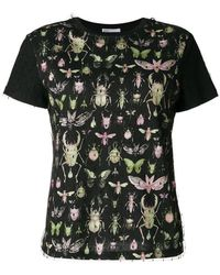 RED Valentino - Insect Print T-shirt - Lyst