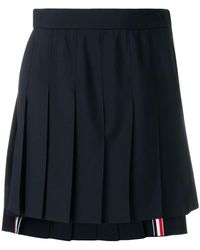 Thom Browne - School Uniform Pleated Skirt - Lyst