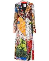 Rosie Assoulin - Patterned Long Coat - Lyst