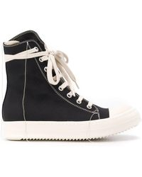 3c2264029c8 Rick Owens Drkshdw - Hi-top Stitch Sneakers - Lyst