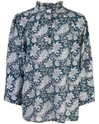 Apiece Apart - Blusa con estampado floral - Lyst