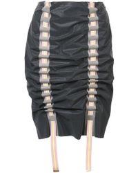 Martina Spetlova - Woven Pencil Skirt - Lyst