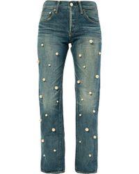 Tu Es Mon Tresor - Big Pearl Jeans - Lyst
