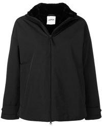 Aspesi - Drop Shoulder Zipped Jacket - Lyst