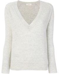 Zanone | Deep V-neck Pullover | Lyst