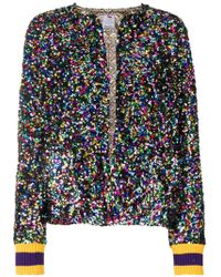 Ultrachic - Sequin Embroidered Jacket - Lyst