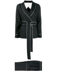 Parlor - Pintstripe Trouser Suit - Lyst