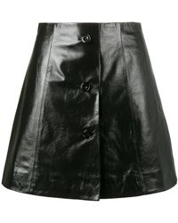 Olivier Theyskens - Mini A-line Skirt - Lyst