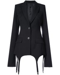 Vera Wang - Classic Fitted Blazer - Lyst