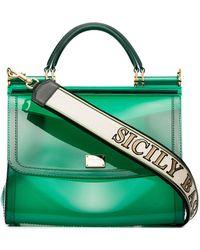Dolce & Gabbana - Transparent Sicily Shoulder Bag - Lyst