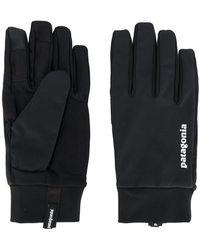Patagonia - Logo Print Gloves - Lyst