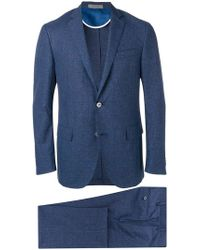 Corneliani - Checked Two-piece Suit - Lyst