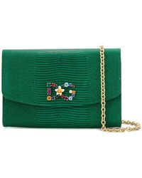 509f6c4643b1 Dolce & Gabbana - St. Iguana Clutch - Lyst