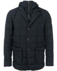 Herno - Flap Pockets Hooded Jacket - Lyst