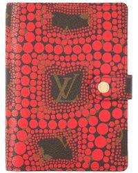 Louis Vuitton - Yayoi Kusama Agenda Pm Notebook Cover - Lyst