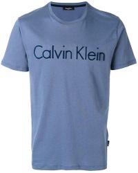 CALVIN KLEIN 205W39NYC - Logo T-shirt - Lyst