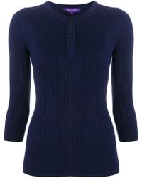 Ralph Lauren - Ribbed Jumper - Lyst