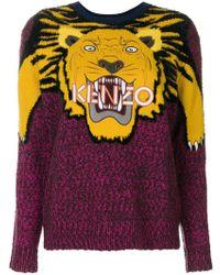KENZO | Tiger Intarsia Jumper | Lyst
