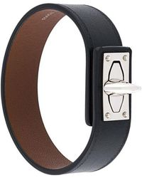 Givenchy - Shark Tooth Leather Bracelet - Lyst