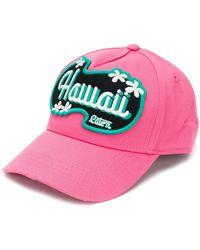 DSquared² - Hawaii Baseball Cap - Lyst