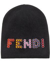 Fendi - Fun Fair Beanie Hat - Lyst
