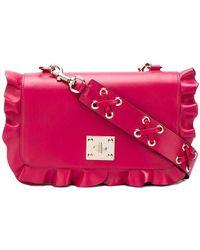 RED Valentino - Rock Ruffles Shoulder Bag - Lyst