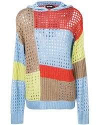 House of Holland - Cut-out Knit Jumper - Lyst