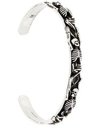 Alexander McQueen - Skeleton Cuff Bracelet - Lyst