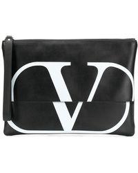 Valentino - Bolso de mano con logo Go Garavani - Lyst