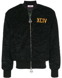 Gcds - Embroidered Bomber Jacket - Lyst