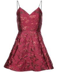 Alice + Olivia - Flared Dress - Lyst