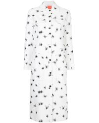 Manning Cartell - Spot Embroidered Fitted Coat - Lyst