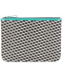 Pierre Hardy - Geometric Patterned Clutch Bag - Lyst