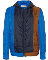 Marni - Down Jacket With Hood - Lyst