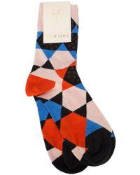 Stine Goya - Iggy Hexagon Socks - Lyst