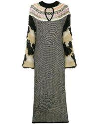 Mame - Textured Jumper Dress - Lyst