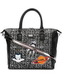 Karl Lagerfeld - K/space Bowling Tote Bag - Lyst