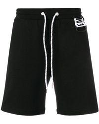 Dirk Bikkembergs - Logo Drawstring Shorts - Lyst