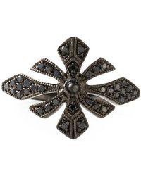 Joelle Jewellery - 'antique' Tip Finger Ring - Lyst