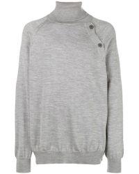Lanvin - Oversized Turtleneck Sweater - Lyst