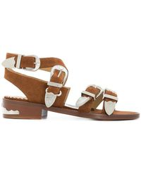 Toga Pulla - Buckle Strap Sandals - Lyst