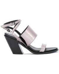A.F.Vandevorst - Ankle Strap Sandals - Lyst