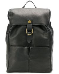Vivienne Westwood - Pebbled Leather Backpack - Lyst
