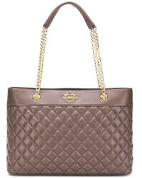 Love Moschino - Large Quilted Shoulder Bag - Lyst