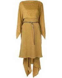 Nehera - Asymmetrical Mid-length Dress - Lyst