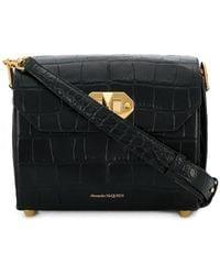 Alexander McQueen - Twist-lock Fastening Shoulder Bag - Lyst