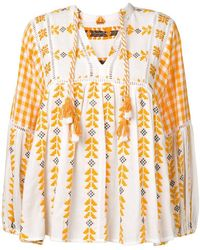 Dodo Bar Or - Embroidered Blouse - Lyst