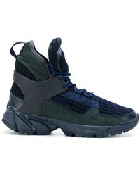 Undercover - Ribbed Hi-top Sneakers - Lyst