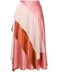 ROKSANDA - Draped Skirt - Lyst